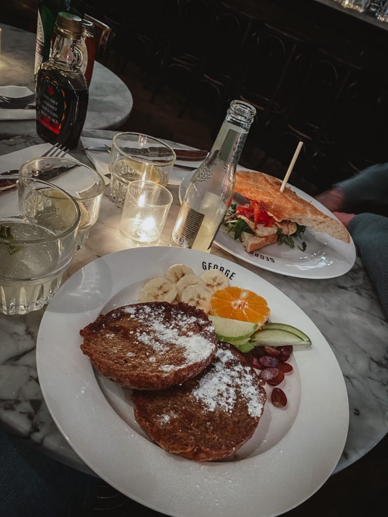 Cafe george french toast
