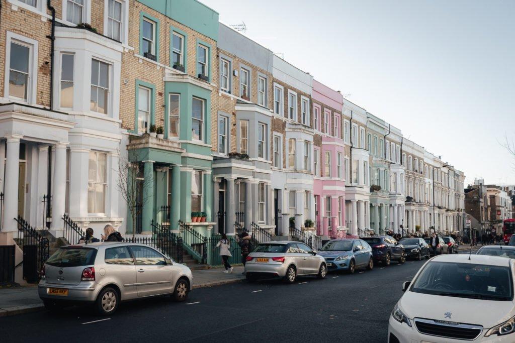 Notting Hill straten